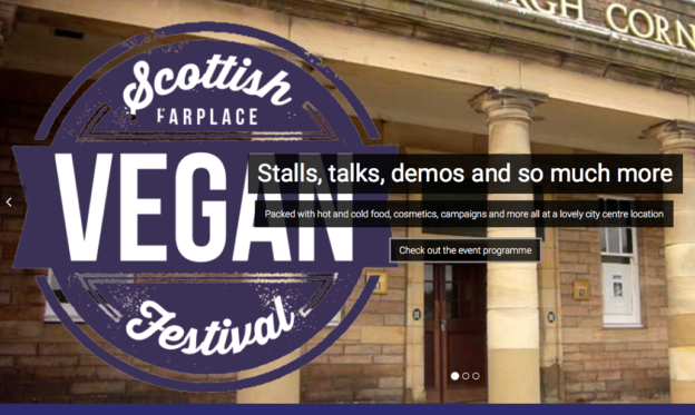 Scottish Vegan Festival 624x373 - Scottish Vegan Festival