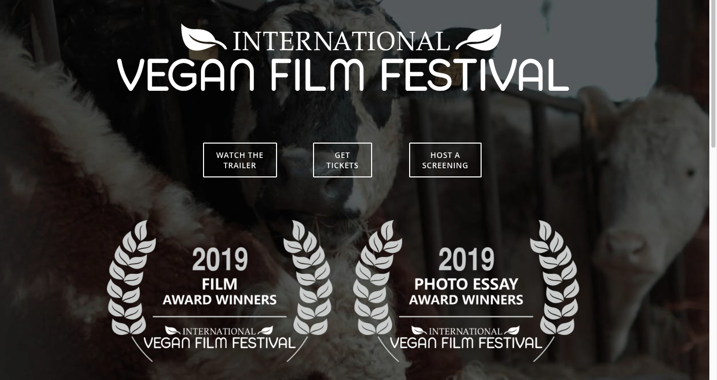 VEGAN FILM FESTIVAL - The First International Vegan Film Festival